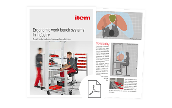 Whitepaper – Ergonomic work bench systems in industry