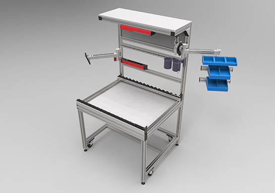Mobile work bench (light)