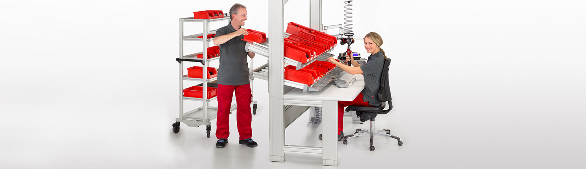 Ergonomic solutions for manual production