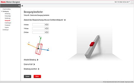 Lineartechnik: Software für die Auslegung Ihrer Lineareinheit